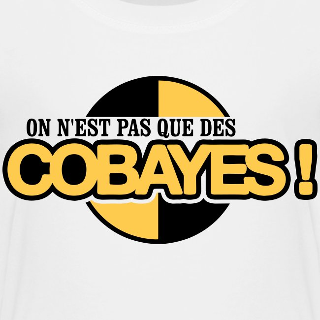 T-shirt Enfant Qualité logo Cobayes