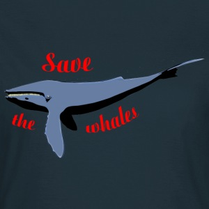 save the whales T-shirts - T-shirt dam