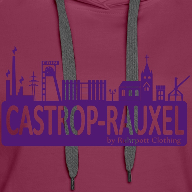 Skyline Castrop Rauxel - Frauen Kapuzenpullover