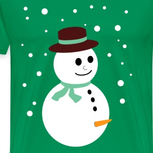 Naughty snowman T-Shirts - Men's Premium T-Shirt