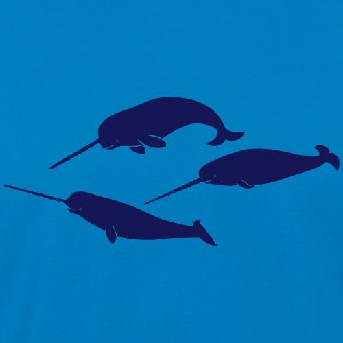 narwale wal whale narwal einhorn delphin meer