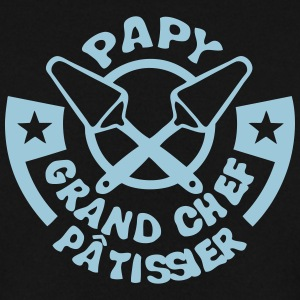 papy chef patissier logo pelle tarte Sweat-shirts - Sweat-shirt Homme