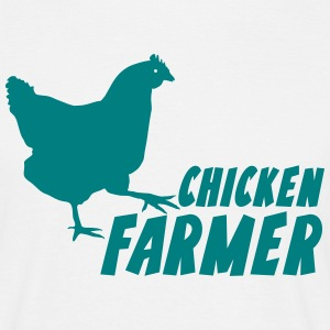 Landwirt Chicken Farmer Bauer T-Shirts - Mannen T-shirt