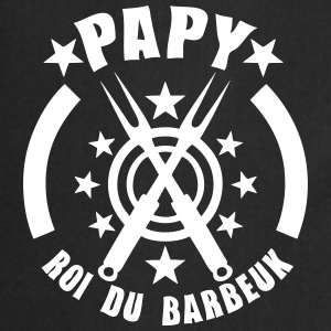 papy roi barbeuk barbecue logo Tabliers - Tablier de cuisine