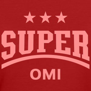 Super Omi, T-Shirt - Frauen Bio-T-Shirt