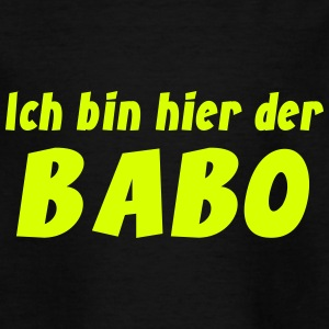 BABO Chef Boss Jugendwort 2013 Shirt T-Shirts - Teenager T-Shirt