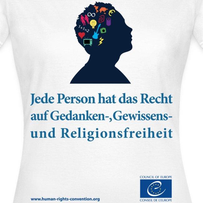Gedanken, Gewissensund Religionsfreiheit