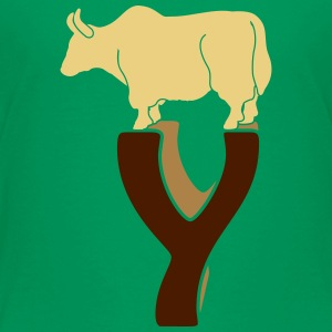 tierisches Alphabet: das Yak Shirts - Teenage Premium T-Shirt