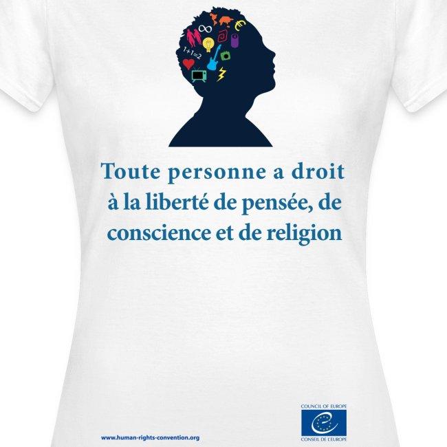 Droit à la liberté de pensée, de conscience et de religion