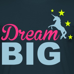 Dream Big T-skjorter - T-skjorte for menn