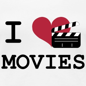 I Love Movies T-Shirts - Women's Premium T-Shirt