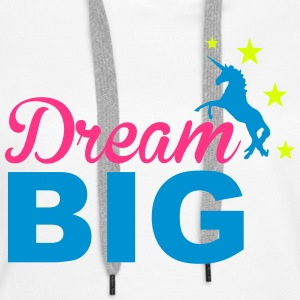 Dream Big Sweat-shirts - Sweat-shirt à capuche Premium pour femmes