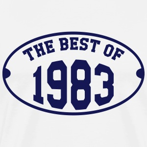 The Best of 1983 T-shirts - Premium-T-shirt herr