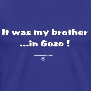Brother in Gozo T-Shirts - Men's Premium T-Shirt