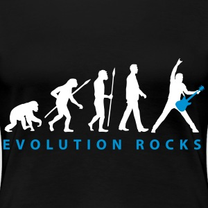 evolution_guitar_112013_d_2c T-Shirts - Frauen Premium T-Shirt