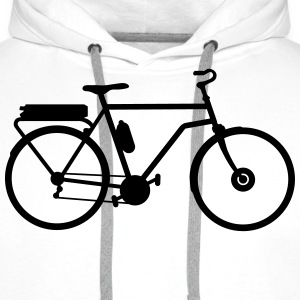 electric bicycle_b1 Hoodies & Sweatshirts - Men's Premium Hoodie