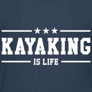 Kayaking is life ! Shirts - Kinderen Premium T-shirt