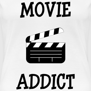 Movie Addict Tee shirts - T-shirt Premium Femme