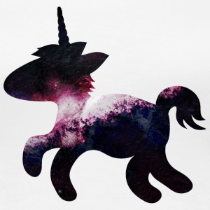 cute space unicorn söt utrymme unicorn T-shirts - Premium-T-shirt dam