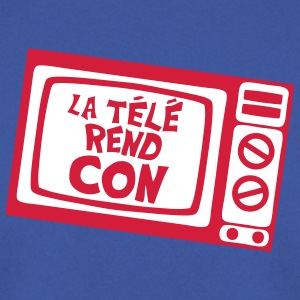 la tele rend con expression tv Sweat-shirts - Sweat-shirt Homme