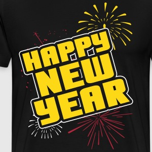 Happy new year T-Shirts - Männer Premium T-Shirt