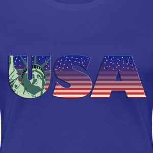usa_new_york_11201301 T-Shirts - Frauen Premium T-Shirt