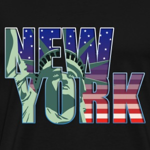 usa_new_york_11201306 T-Shirts - Männer Premium T-Shirt