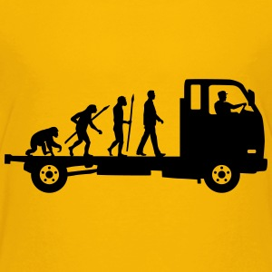 evolution_of_man_trucker_112013_a_1c T-Shirts - Teenager Premium T-Shirt