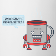Design ~ Robot Tea Dispensing Coffee Mug Thing - Mug