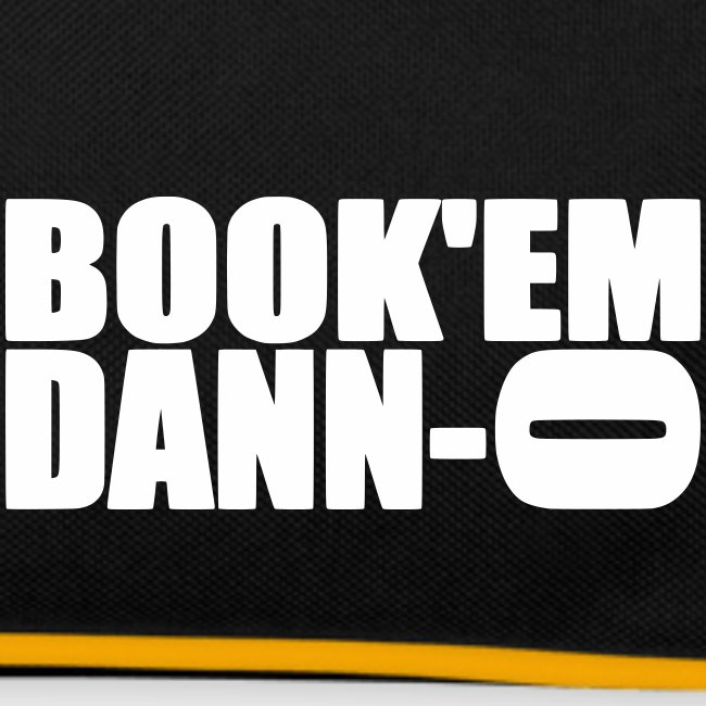 """Sac Retro """"Book'em Danno"""""""