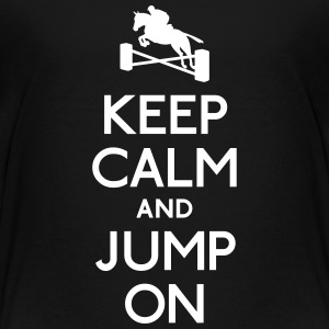keep calm and jump on Shirts - Kids' Premium T-Shirt