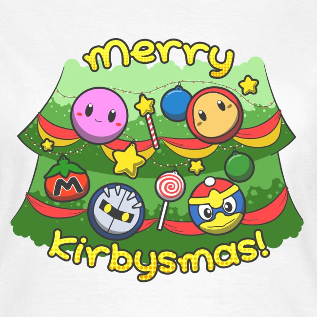 Women's Merry Kirbysmas T-Shirt