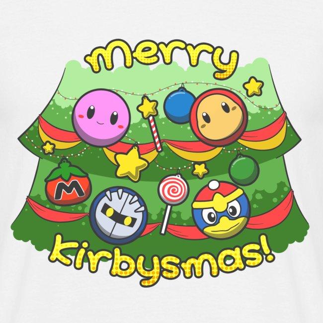 Men's Merry Kirbysmas T-Shirt