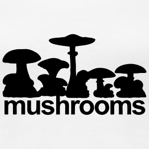 Mushirooms T-Shirts - Women's Premium T-Shirt