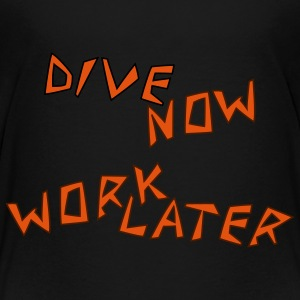 dive_now_2 T-Shirts - Teenager Premium T-Shirt