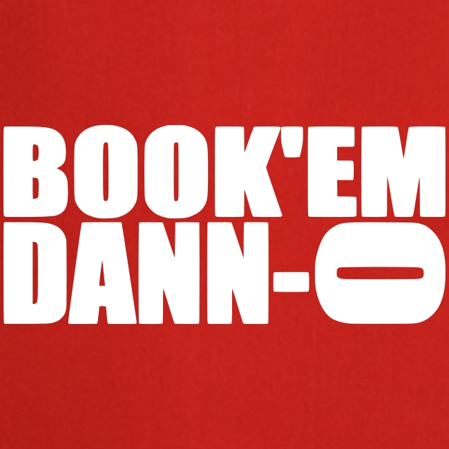 "Tablier de cuisine ""Book'em Danno"""