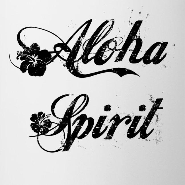 "Tasse bicolore  ""Aloha"""