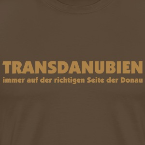 Transdanubien - on the right side  of the danube T-Shirts - Männer Premium T-Shirt