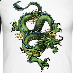 dragon chinois 202 Tee shirts manches longues - T-shirt baseball manches longues Homme