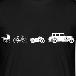 Oldtimer Evolution T-shirts - Herre-T-shirt
