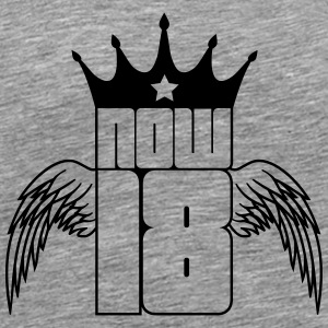 Now 18 Wings King T-Shirts - Männer Premium T-Shirt