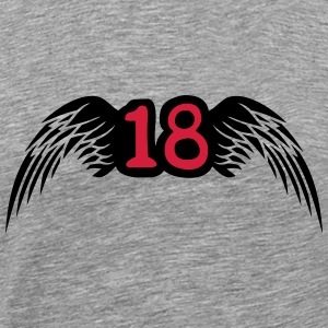 18 Wings Logo T-Shirts - Men's Premium T-Shirt