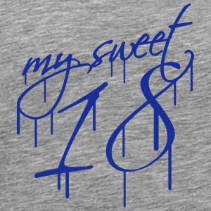My Sweet 18 Graffiti Design T-Shirts - Männer Premium T-Shirt