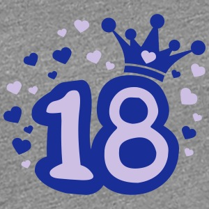 Princess 18 T-Shirts - Frauen Premium T-Shirt