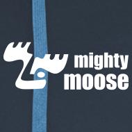 Motiv ~ Mighty Moose Herren Kapuzenjacke