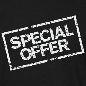 Special Offer (White) T-Shirts - Men's T-Shirt