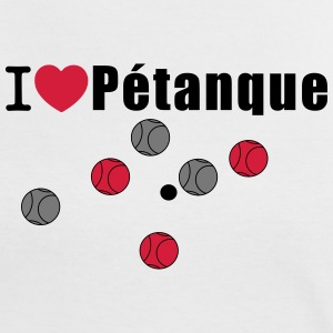 I Love Petanque T-Shirts - Women's Ringer T-Shirt