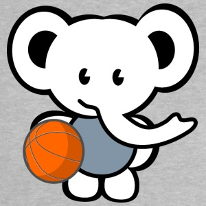 basketball elephant Shirts - Baby T-shirt