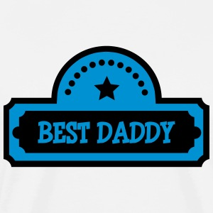 Best Daddy T-skjorter - Premium T-skjorte for menn