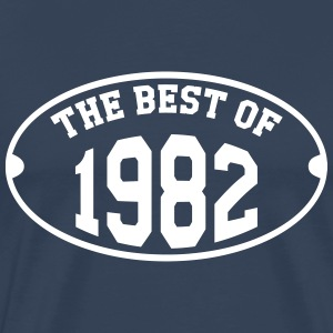 The Best of 1982 Camisetas - Camiseta premium hombre